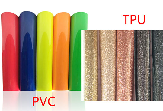 The difference between PVC and TPU heat transfer vinyl